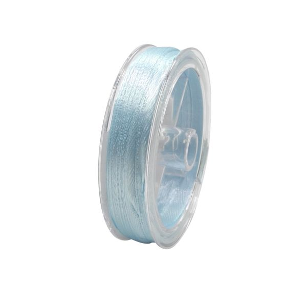 Satin Band 10 m hellblau