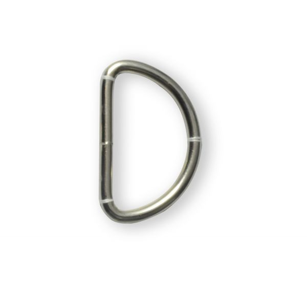 D-Ring Metall ID 36mm - 4 St