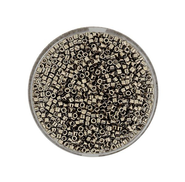Delica Beads 2 mm platin