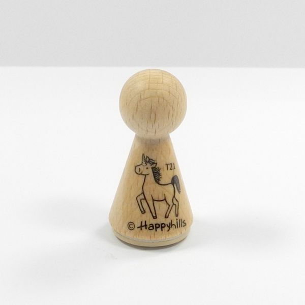 Happyhills Figurenstempel - Einhorn