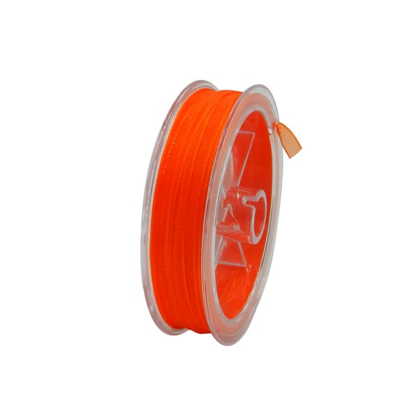 Organza Band 10 m orange