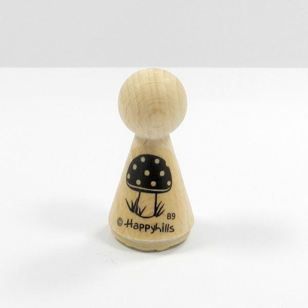 Happyhills Figurenstempel - Fliegenpilz