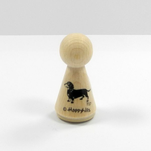 Happyhills Figurenstempel - Dackel