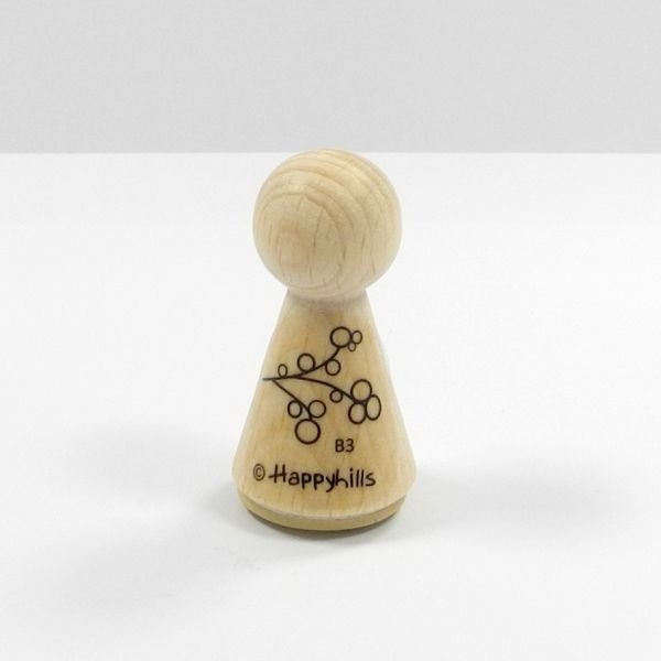 Happyhills Figurenstempel - Zweig