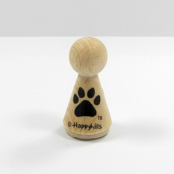 Happyhills Figurenstempel - Tatze