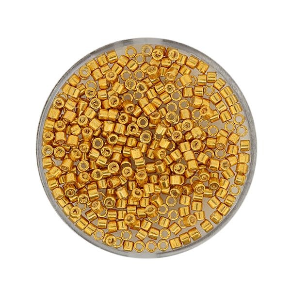 Delica Beads 2,2 mm yellow goldfb.