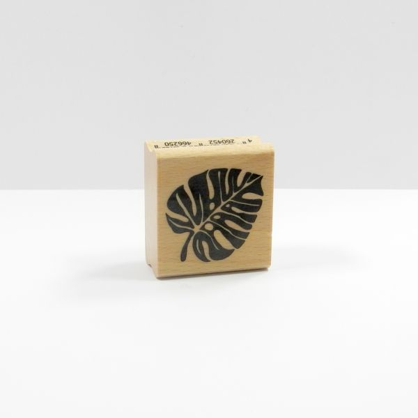 Happyhills Stempel - Monstera Blatt