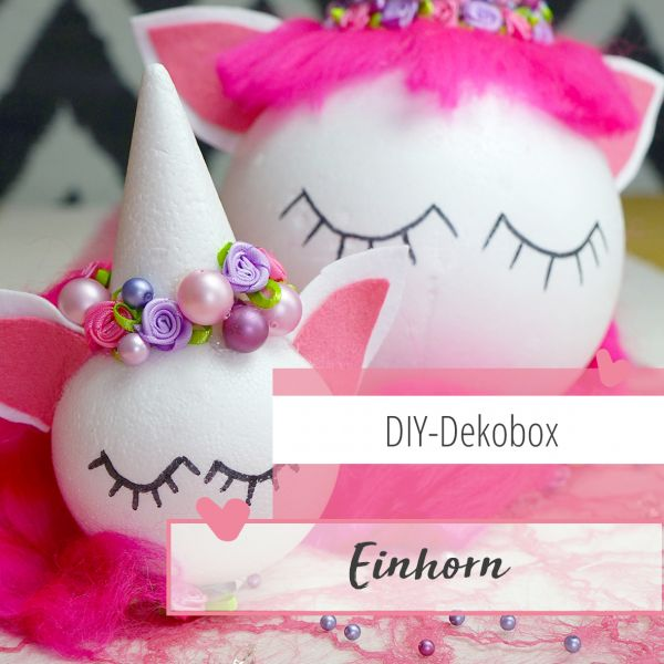 Einhorn Deko Box 1 Set Kinderwelt Shop Mytinkerbox