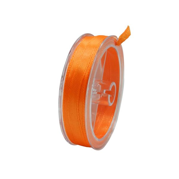 Satin Band 10 m orange