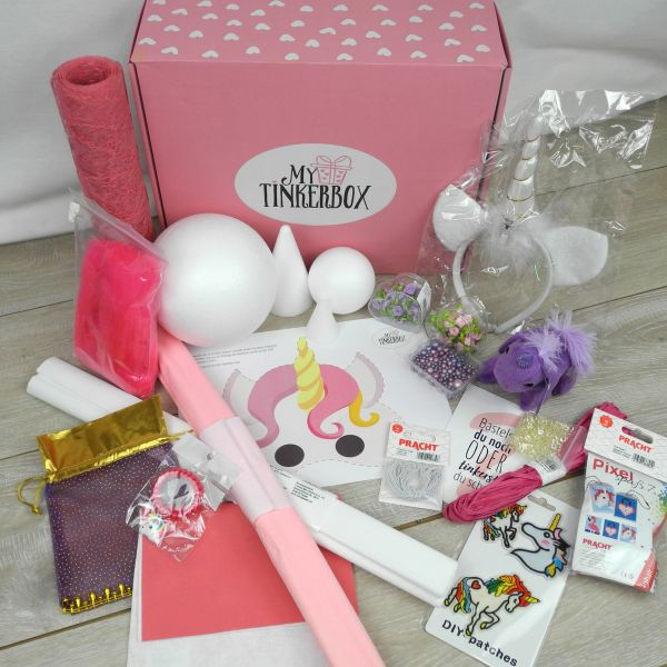 Einhorn Partybox XXL all - 1 Set