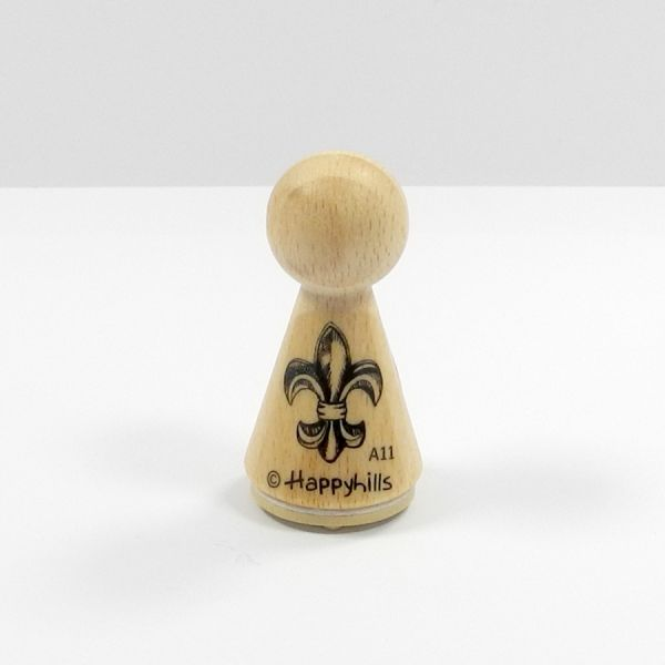 Happyhills Figurenstempel - Ornament Lilie